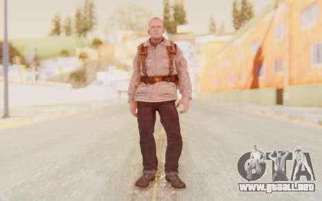 COD BO Russian Soldier v2 para GTA San Andreas segunda pantalla