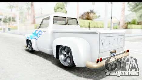 GTA 5 Vapid Slamvan without Hydro IVF para el motor de GTA San Andreas