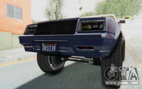 GTA 5 Willard Faction Custom Donk v3 IVF para vista inferior GTA San Andreas
