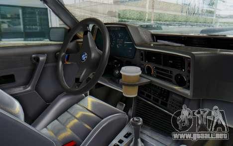 BMW M635 CSi (E24) 1984 IVF PJ2 para GTA San Andreas vista hacia atrás