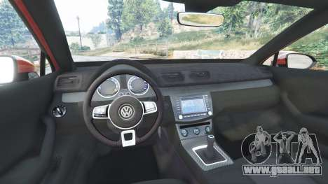 GTA 5 Volkswagen Passat Highline B8 2016 Stanced delantero derecho vista lateral