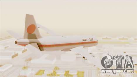 Airbus A320-200 Japanese Air Force One para GTA San Andreas left
