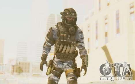 Federation Elite SMG Urban-Navy para GTA San Andreas