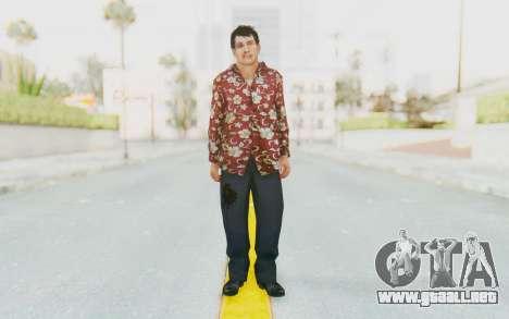 Mafia 2 - Joe Beaten para GTA San Andreas segunda pantalla