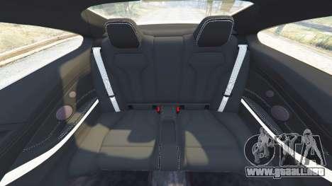 GTA 5 BMW M4 2015 v0.01 volante