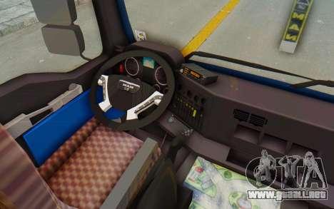 MAN TGA Energrom Edition v1 para visión interna GTA San Andreas