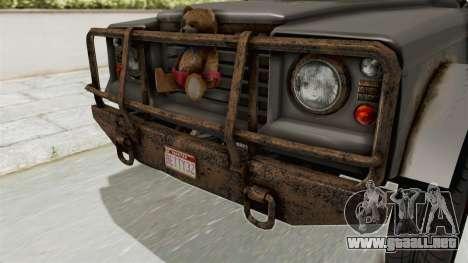 GTA 5 Canis Bodhi Trevor IVF para visión interna GTA San Andreas