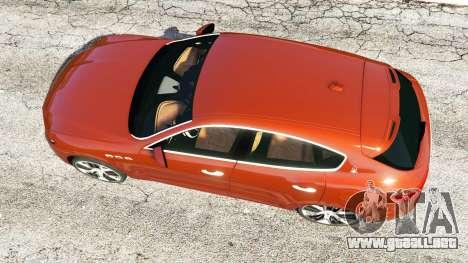 GTA 5 Maserati Levante 2017 vista trasera