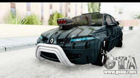 Renault Megane Sport para la visión correcta GTA San Andreas
