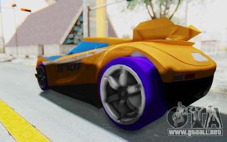 Hot Wheels AcceleRacers 4 para GTA San Andreas left