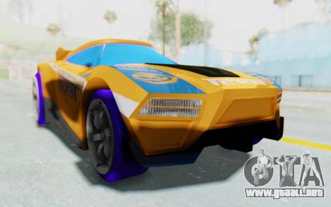 Hot Wheels AcceleRacers 4 para la visión correcta GTA San Andreas