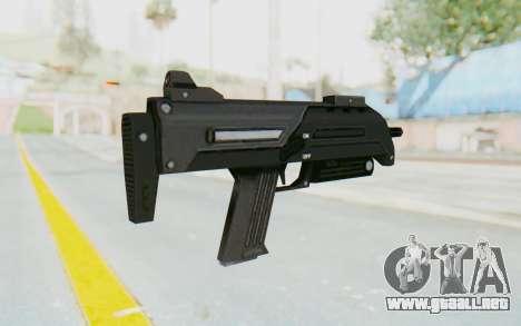 APB Reloaded - S-AS PDW para GTA San Andreas segunda pantalla
