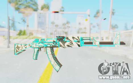 CS:GO - AK-47 Front Side Misty para GTA San Andreas