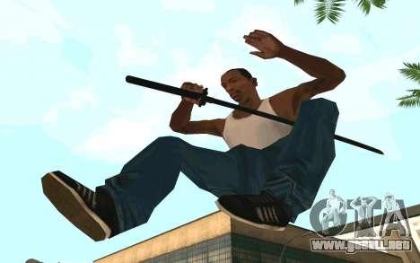 Sword of Blades para GTA San Andreas segunda pantalla