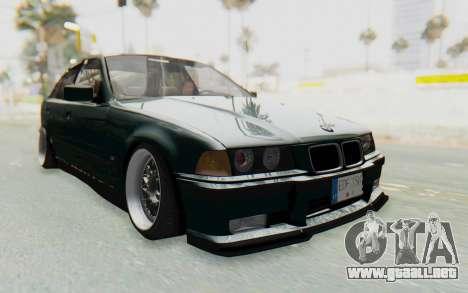 BMW 325tds E36 para la visión correcta GTA San Andreas