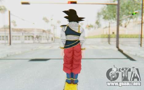 Dragon Ball Xenoverse Goku Yardrat Clothes para GTA San Andreas tercera pantalla