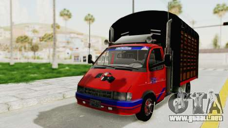 GAZelle 33021 Lápiz Colombia para GTA San Andreas