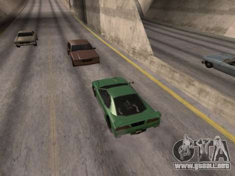 Por delante para GTA San Andreas segunda pantalla