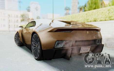 GTA 5 Pegassi Reaper SA Lights para GTA San Andreas left