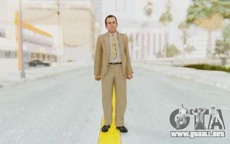 Mafia 2 - Eddie Scarpa para GTA San Andreas segunda pantalla