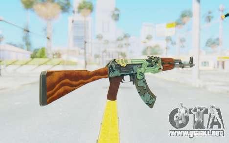 CS:GO - AK-47 Fire Serpent para GTA San Andreas segunda pantalla