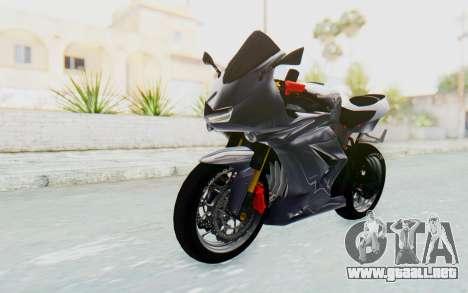 Kawasaki Ninja 250R Streetrace v2 para la visión correcta GTA San Andreas