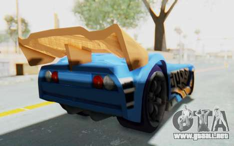 Hot Wheels AcceleRacers 1 para GTA San Andreas left