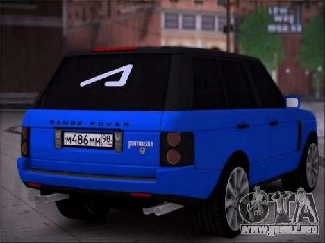 Range Rover Sport Pintoresca para GTA San Andreas left