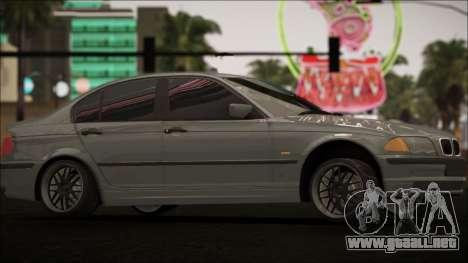 BMW E46 para visión interna GTA San Andreas