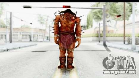 God of War 3 - Hades para GTA San Andreas tercera pantalla