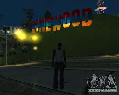 New Vinewood Armenia para GTA San Andreas tercera pantalla