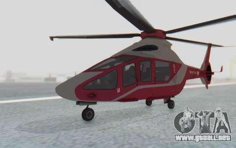 GTA 5 Buckingham Volatus v1 para la visión correcta GTA San Andreas