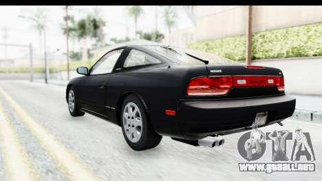 Nissan 240SX 1994 v2 para GTA San Andreas vista posterior izquierda