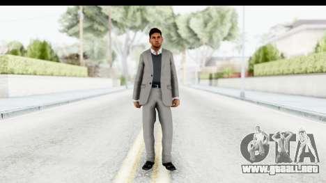 Messi Formal Fixed Up para GTA San Andreas segunda pantalla