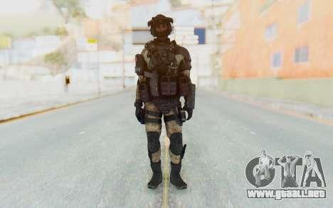 Federation Elite LMG Desert para GTA San Andreas segunda pantalla