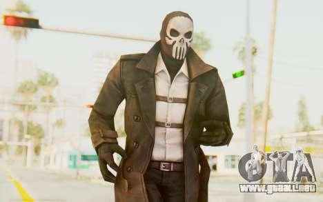 Marvel Future Fight - Punisher (Noir) para GTA San Andreas
