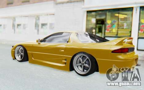 Mitsubishi 3000GT 1999 para GTA San Andreas vista hacia atrás