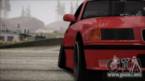 BMW E36 Stance para la vista superior GTA San Andreas