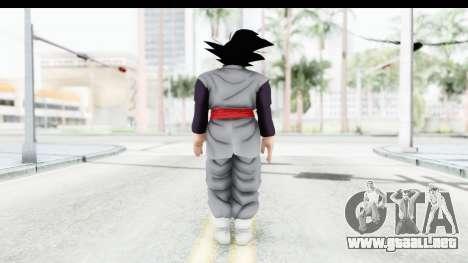 Dragon Ball Xenoverse Goku Black para GTA San Andreas tercera pantalla