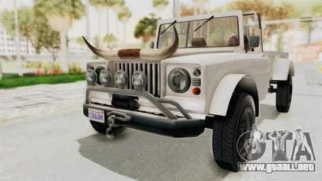 GTA 5 Canis Bodhi para la visión correcta GTA San Andreas