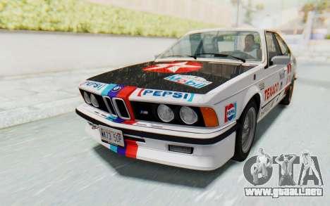 BMW M635 CSi (E24) 1984 IVF PJ2 para GTA San Andreas interior