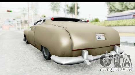 Hermes Ratrod para la visión correcta GTA San Andreas