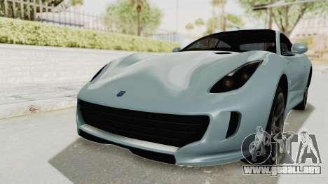 GTA 5 Grotti Bestia GTS v2 SA Lights para la visión correcta GTA San Andreas