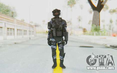 Federation Elite LMG Urban-Navy para GTA San Andreas segunda pantalla