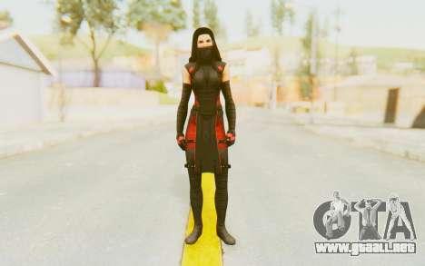 Marvel Heroes - Elektra para GTA San Andreas segunda pantalla
