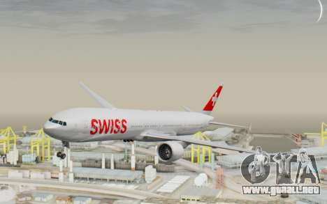 Boeing 777-300ER Swiss Global Air Lines para GTA San Andreas