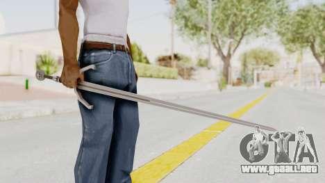 The Witcher 3: Wild Hunt - Sword v2 para GTA San Andreas