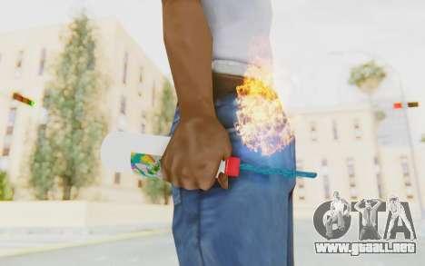 Hatsuni Miku Molotov para GTA San Andreas tercera pantalla