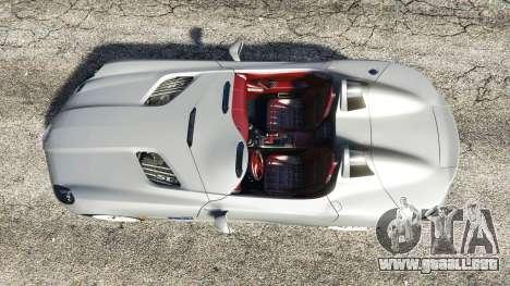 Mercedes-Benz SLR McLaren 2009 para GTA 5