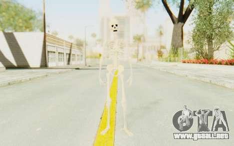 Skeleton para GTA San Andreas segunda pantalla